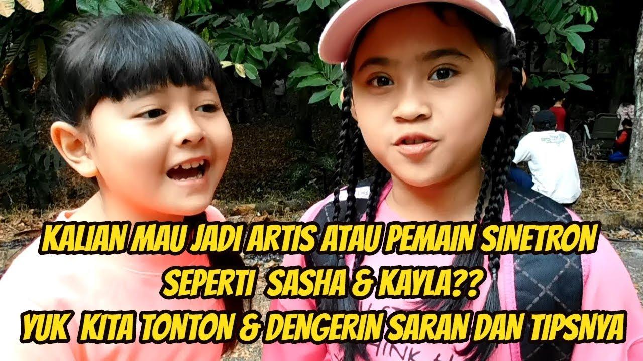 Mau Jadi Artis Pemain Sinetron Seperti Sasha Kayla Pemain Cinta Sebening Embun Yukz Tonton Video Ini Youtube