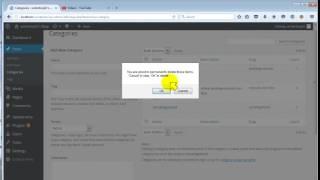 39 Cara Menghapus Kategori di WordPress x264