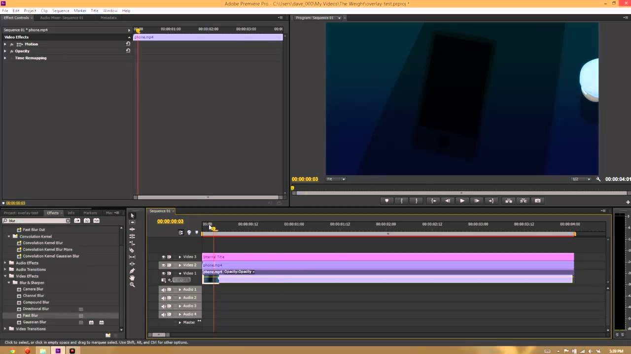 how to add effects in adobe premiere pro cs3