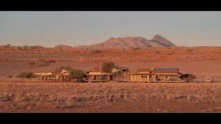 Video over Wolwedans Dunes Lodge in de Sossusvlei, Namibie