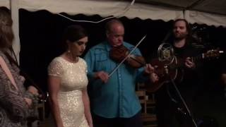 East Virginia Blues - Comet Bluegrass Allstars feat Bride, Laurel (Mozzacca) Beeman at the Laurel a