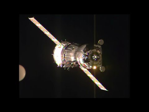 Expedition 42/43 Crew Docks to the Space Station