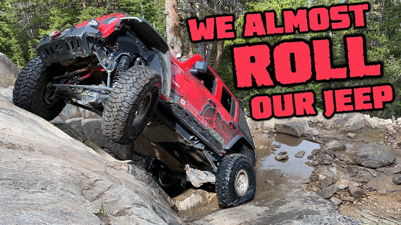 WE ALMOST ROLL OUR JEEP WRANGLER JLU RUBICON!