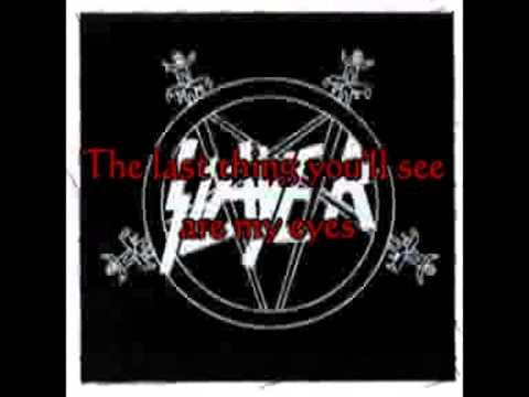 Slayer   When The Stillness Comes   Lyrics EARLY VERSION