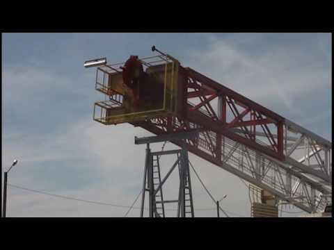 Raising of the mast 808