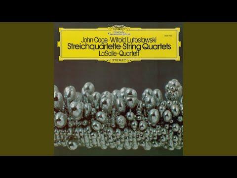 Lutoslawski: String Quartet - 1. Introductory Movement