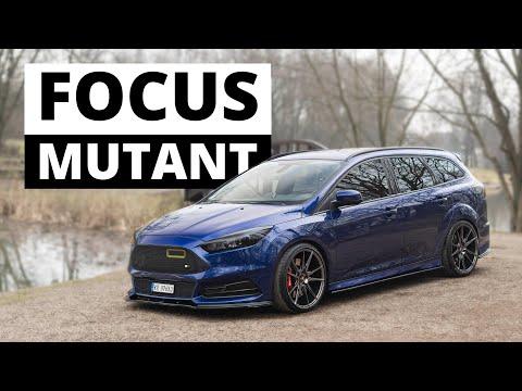 Ford Focus MUTANT - Ludzie Padają Na Chodniki...