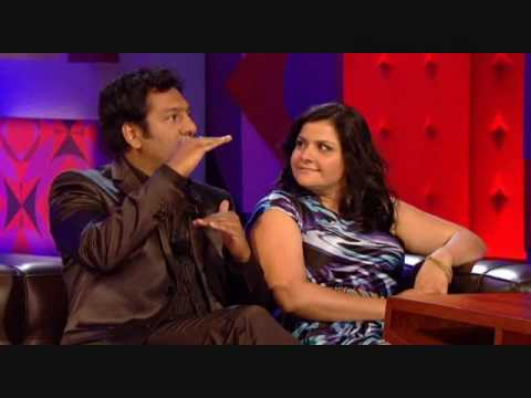 (HQ) Nina Wadia & Nitin Ganatra on Jonathan Ross 2010.06.04