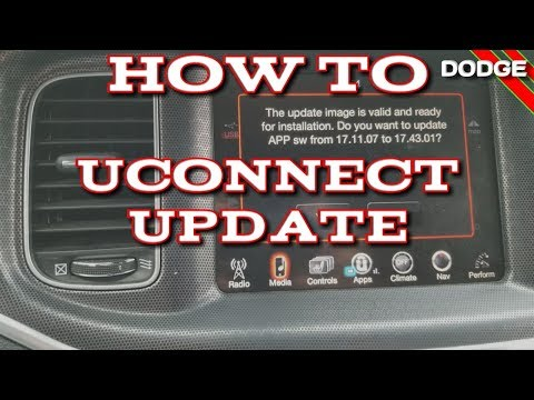 How To USB Update Dodge Uconnect 8.4 In My Charger R/T