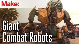 Megabots - Giant Humanoid Combat Robots