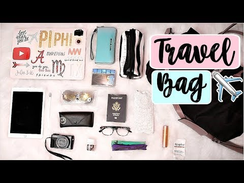 WHAT'S IN MY CARRY ON BAG? | Travel Essentials