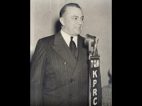 "W. Lee ""Pappy"" O'Daniel Broadcast en Route to Washington, DC (August, 1941)"