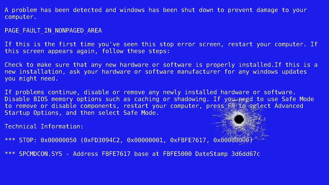 an analysis of the blue screen of death Easy fix window 10 blue screen of death & restart issues download windows 10 reinstall usb clean should one get the blue screen of death, it is advised to enter safe mode, which is accessible in the boot menu, or the troubleshoot tab.