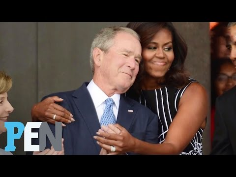 George W. Bush Dishes On His Unlikely Friendship With Michelle Obama | PEN | People Mp3