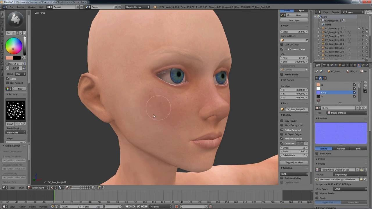 Character Creator Master Series - Pirate Creation Part 2: Customizing a 3D  Body in ZBrush & Blender
