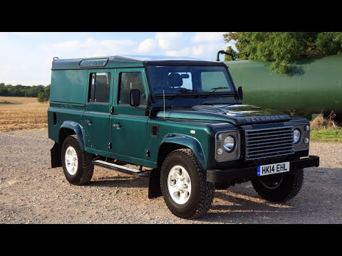 2014 Land Rover Defender 110 XS Utility