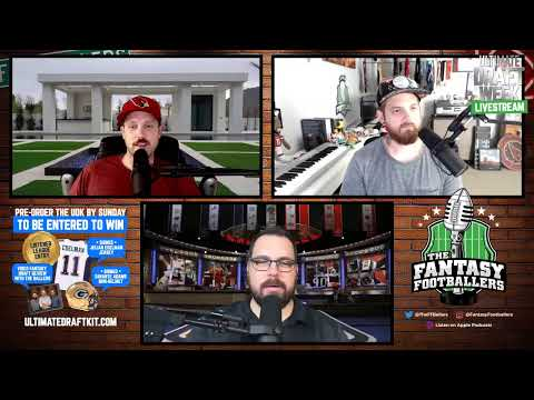 Fantasy Footballers LIVE! NFL Draft Round 1 Reactions With Andy, Mike, And Jason!