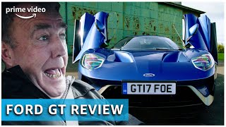 Jeremy Clarkson tests the Ford GT | The Grand Tour | Amazon Prime Video NL