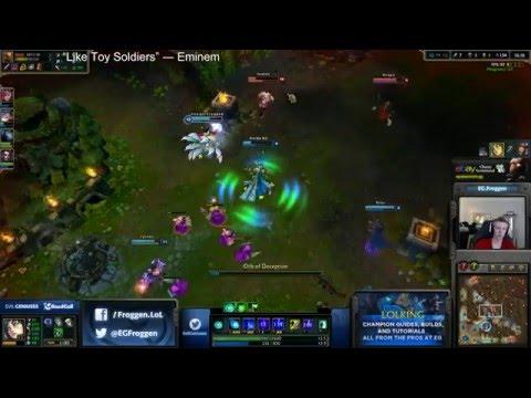 Froggen - Ahri vs Zed - mid «Boss» (Diamond l)