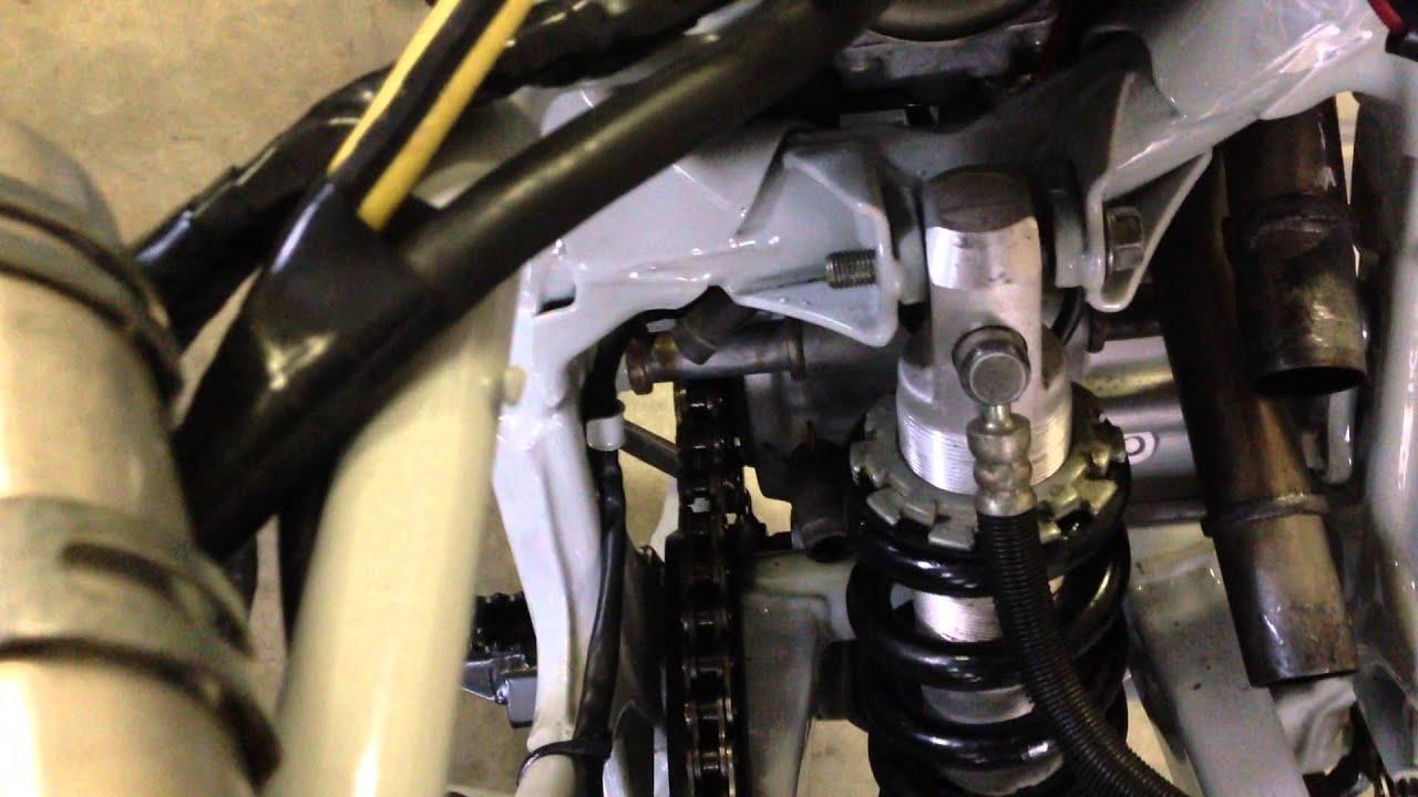 Honda xr250r rear shock rebuild