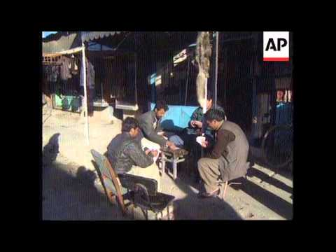 AFGHANISTAN: KABUL: RESIDENTS OPTIMISTIC THAT PEACE WILL PREVAIL