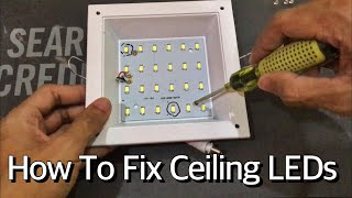How To Fix Flickering LED Ceiling Lamp