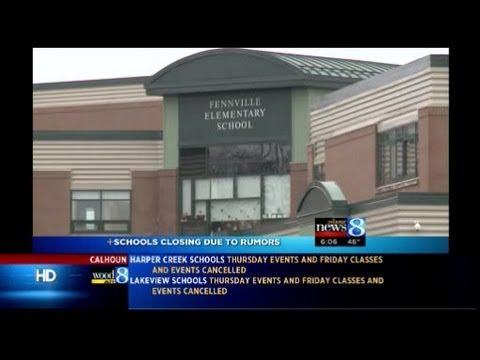 'Threat rumors' close 4 BC-area schools