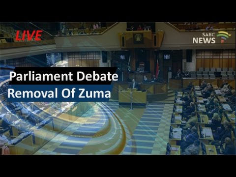 Parliament debates removal of President Zuma, 05 April 2016 - pt1