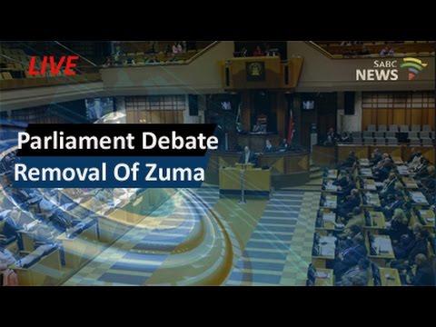 Parliament debates removal of President Zuma, 05 April 2016 - pt1