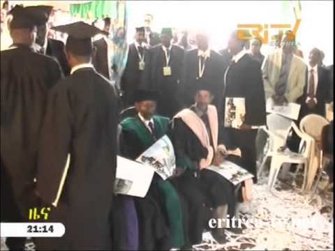 Eritrean News - 20 students graduate with certificate from SMAP's branch in  Mendefera