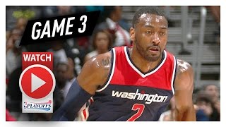 John Wall Full Game 3 Highlights vs Hawks 2017 Playoffs - 29 Pts, 7 Ast