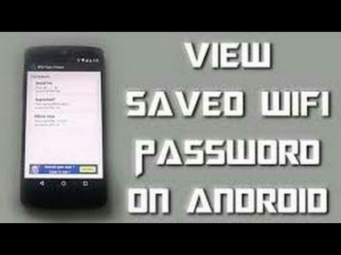 how to set wifi password in mobile