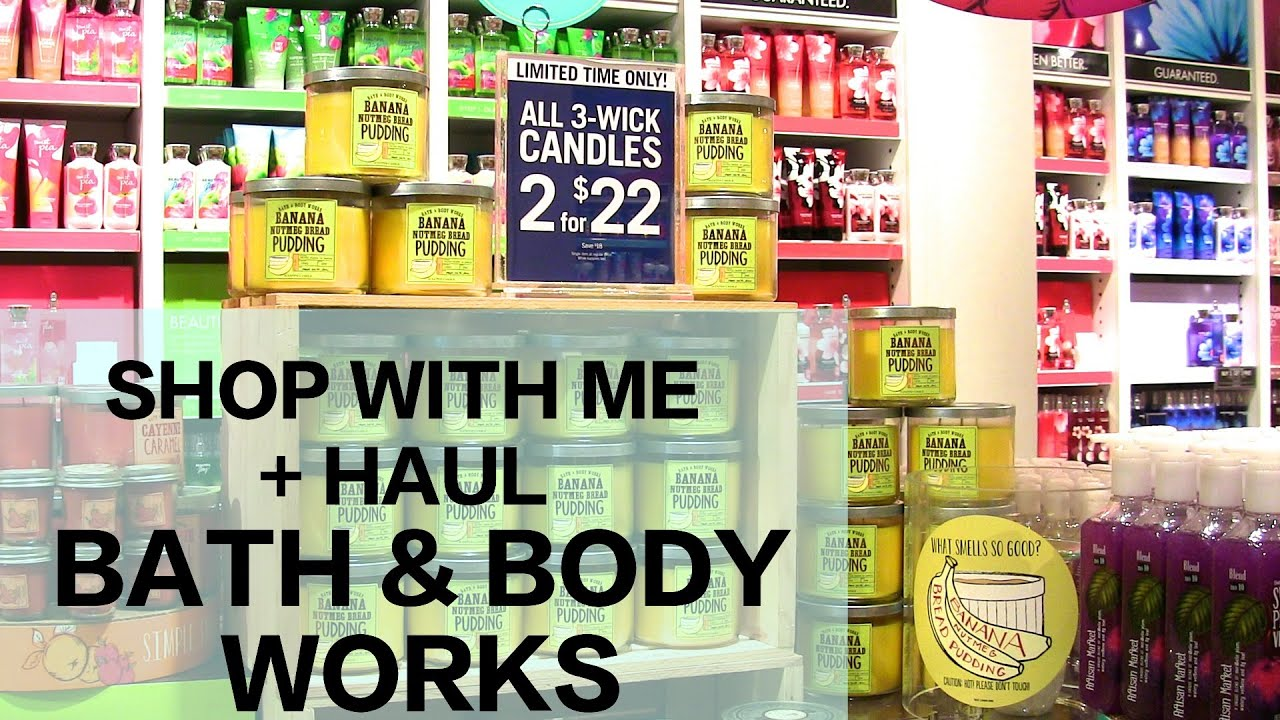 Shop With Me at Bath & Body Works | Fall Haul 2014 - YouTube