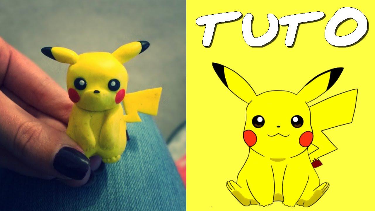 Populaire TUTO FIMO | Pikachu (de Pokémon) - YouTube OT49