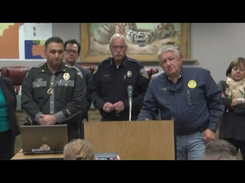 First New Conference on Aztec School Shooting