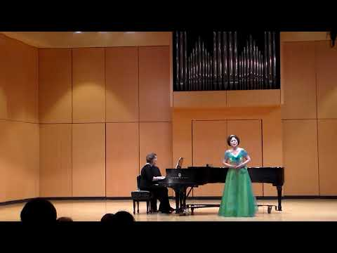 """【Soprano Lily Zhang】""""An Evening of Global Music """" Solo Recital """"Clar de lune"""" - Music by Faure"""