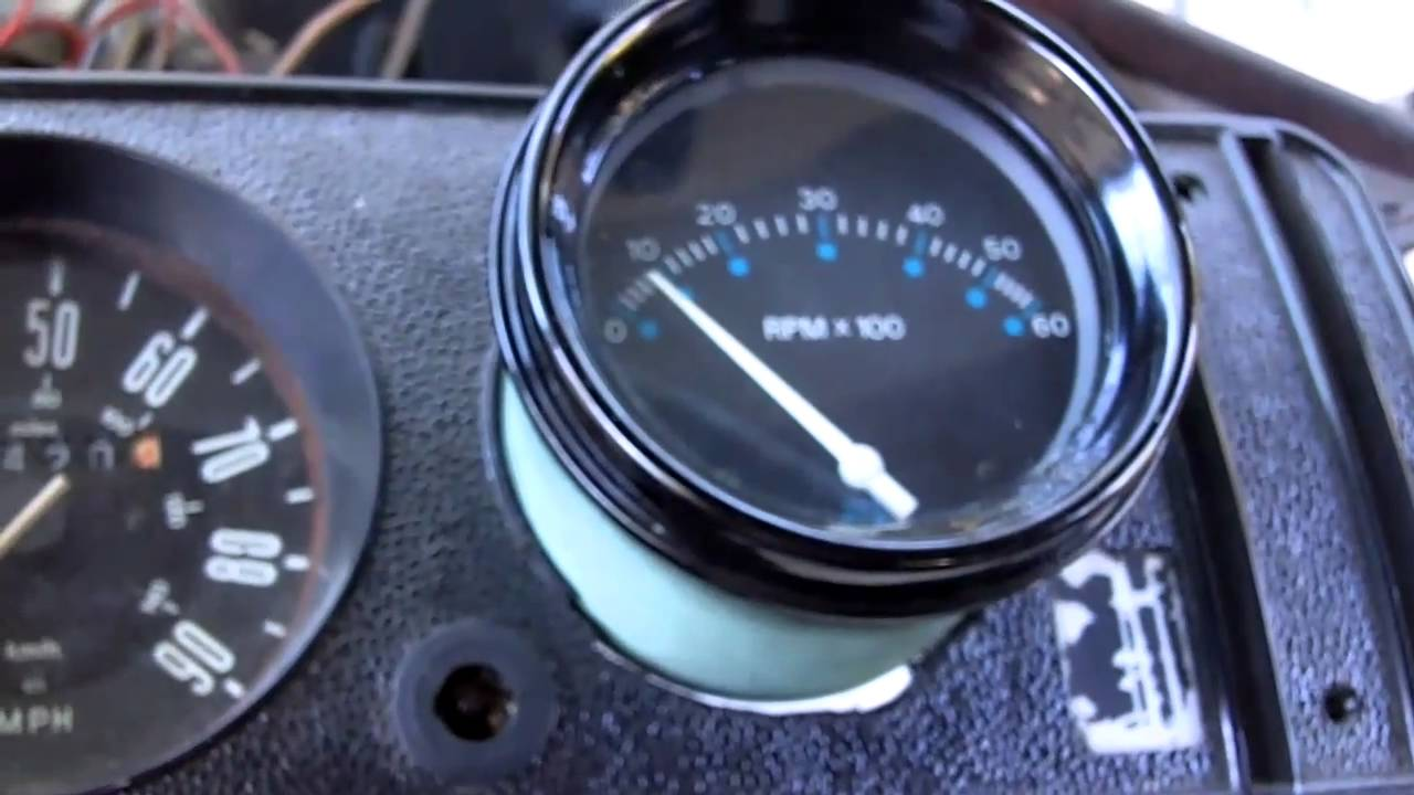 Tachometer for my VW Bus! 2 - YouTube