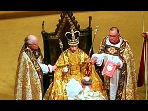 How To Make A Queen Throne Chair Chairs Of The World Gw2 1953. Coronation Elizabeth Ii: 'the Crowning Ceremony' - Youtube