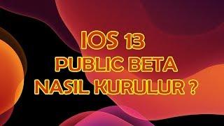 iOS 13 Public Beta is OUT ! How to INSTALL it ? iOS 13 Açık Beta (Public Beta) Nasıl Yüklenir ?