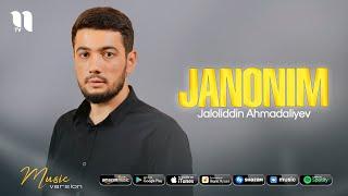 Jaloliddin Ahmadaliyev - Janonim (jonli ijro 2021)
