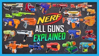 Every 2018 Nerf Gun Explained in 10 Words or Less