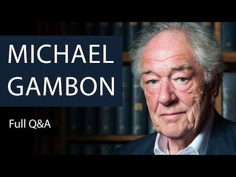 Michael Gambon  Full Q&A  Oxford Union