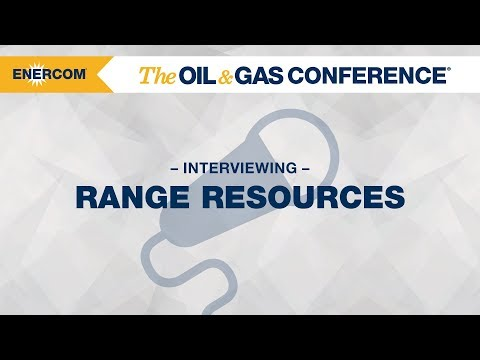 Range Resources CEO Jeff Ventura at EnerCom's The Oil & Gas Conference® 2017