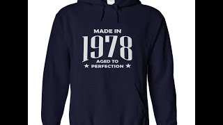 Made in 1978 T Shirts