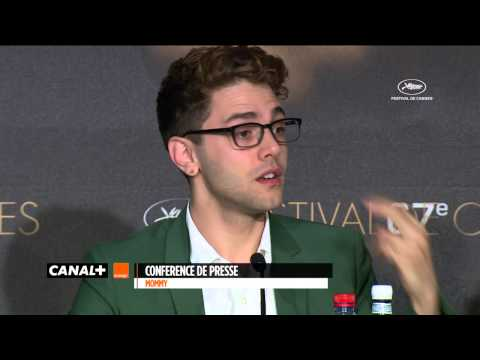 Cannes 2014 - MOMMY : Press Conference