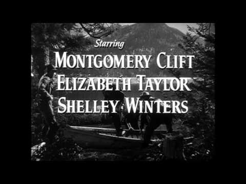 A Place in the Sun (1951) trailer Elizabeth Taylor
