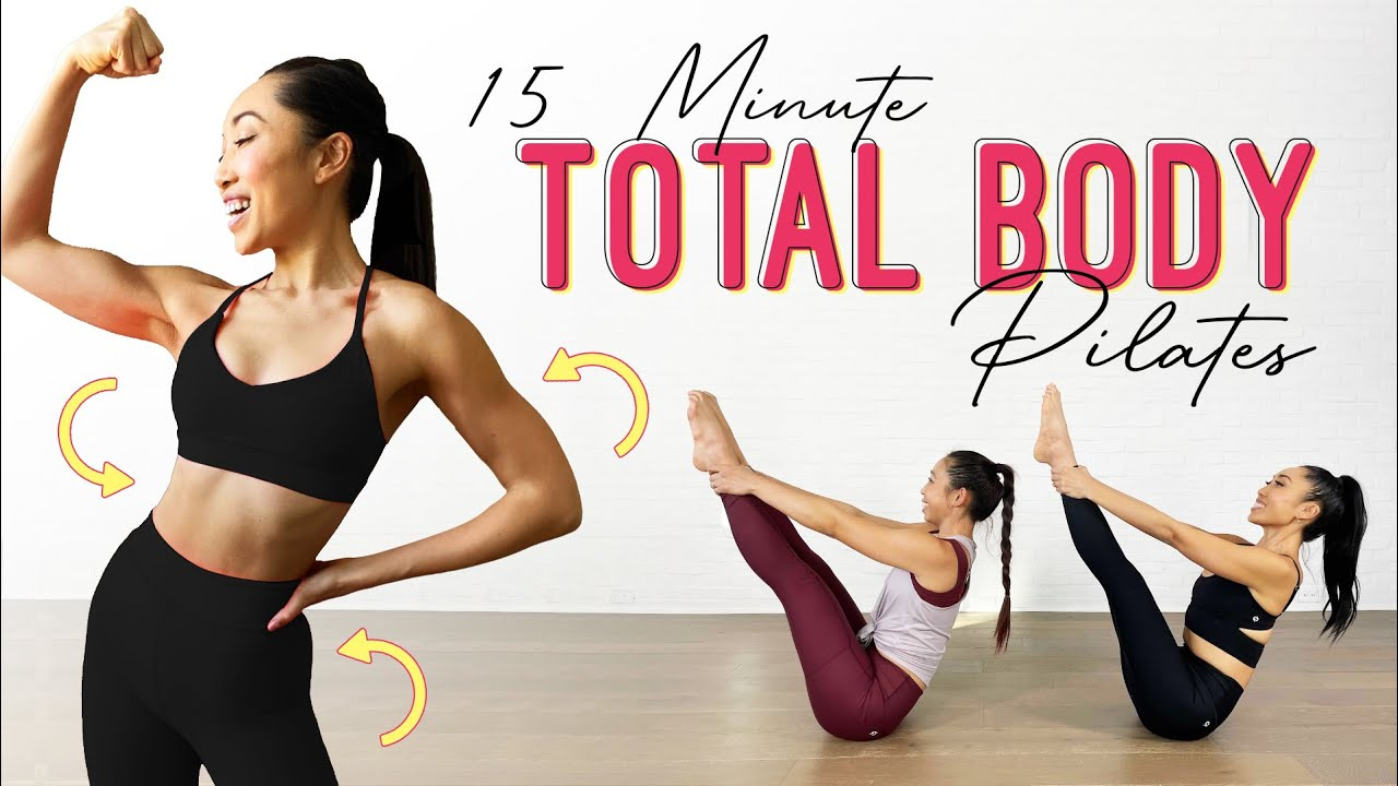 Download 15 Minute Full Body Pilates - thighs, arms, obliques