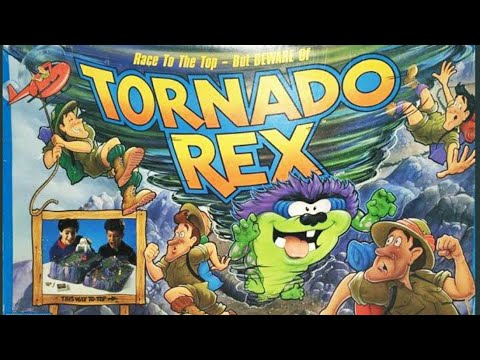 Ep. 203: Tornado Rex Board Game Review (Parker Brothers 1991)