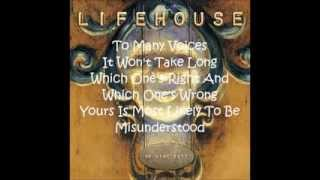 Watch Lifehouse Cling And Clatter video