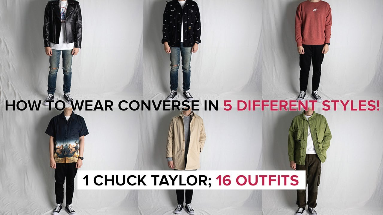 different converse styles